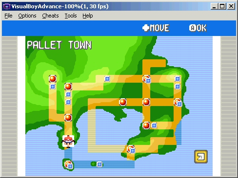 in fr there is more than one map im using the main map of kanto which one youre using depends on which one you want to hack of course rolleyes